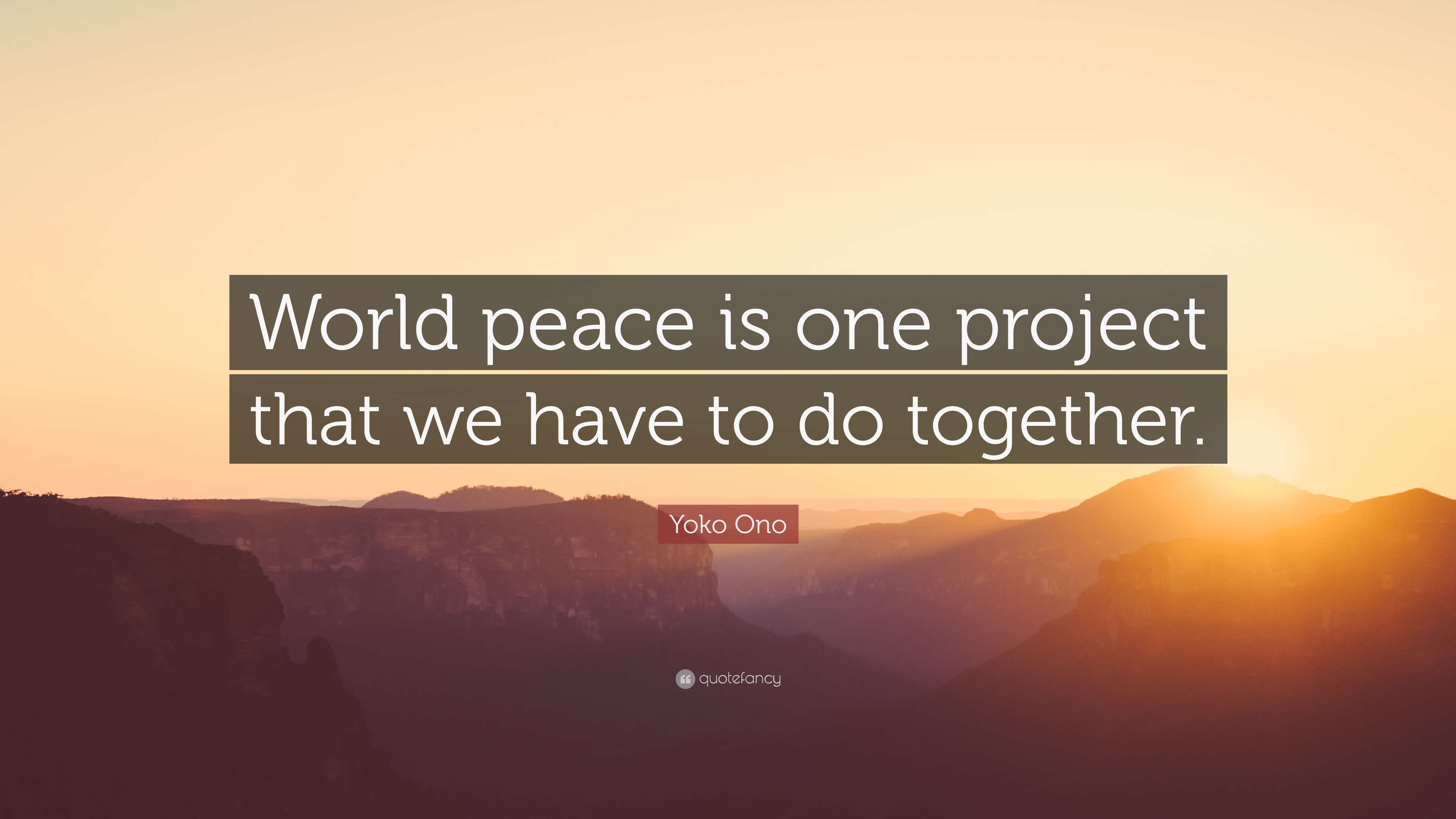 World Peace Quotes 3