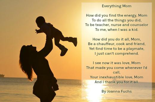 Mother To Daughter Poems 3