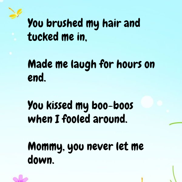 Mom Poems From Daughter That Make You Cry 6