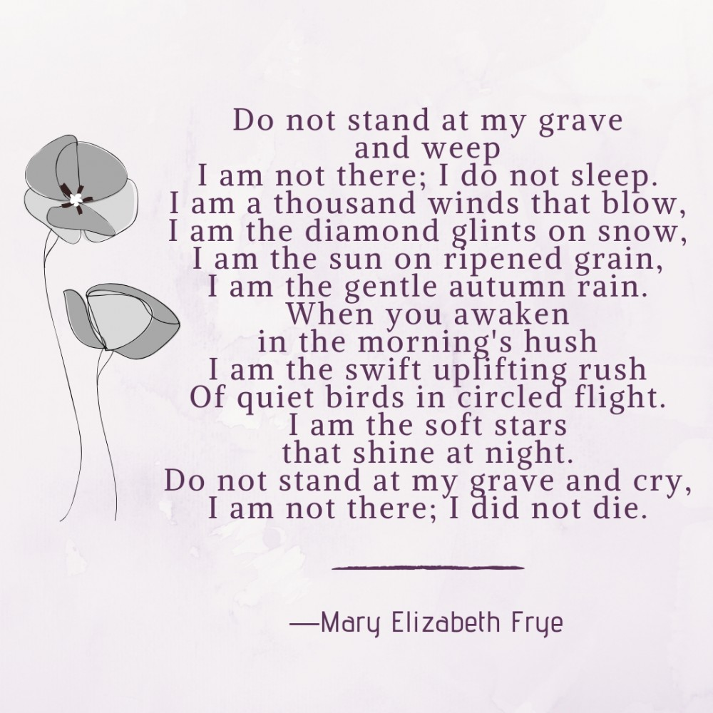 Poems For Death 1