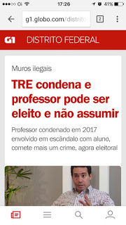 WhatsAppImage2018 06 27at10.14.11 - Fake News, os bandidos e o Professor