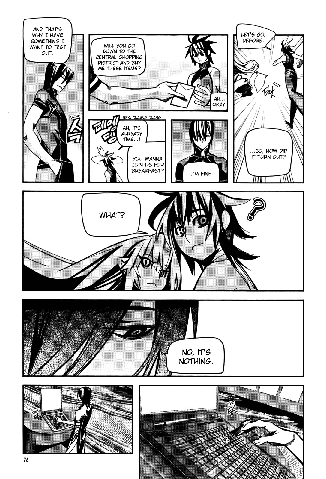 Read Cavalier Of The Abyss Chapter 30