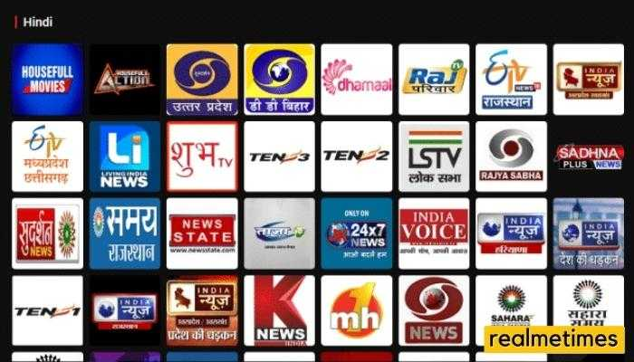 ThopTV Channels list