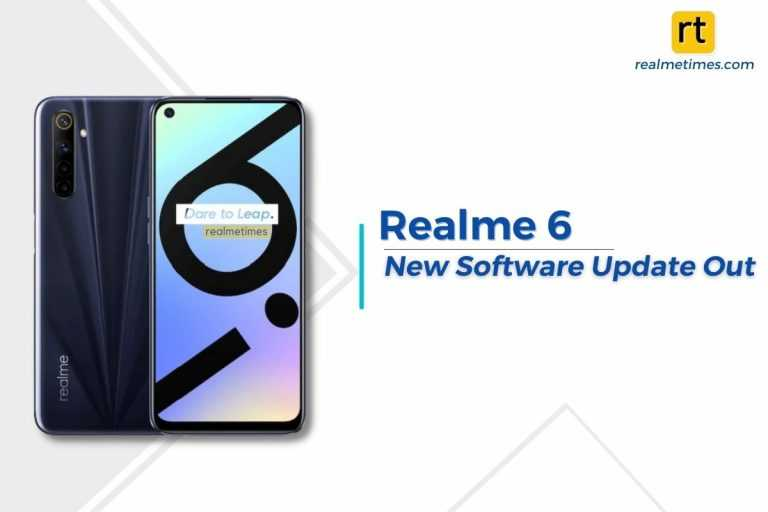 Realme 6 New Update Featured