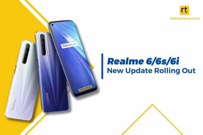 Realme 66s6i new update featured