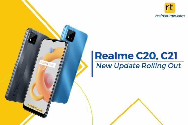 Realme C20 C21 Update Featured
