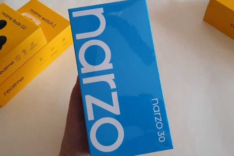 Realme Narzo 30 Unboxing Video Leaked