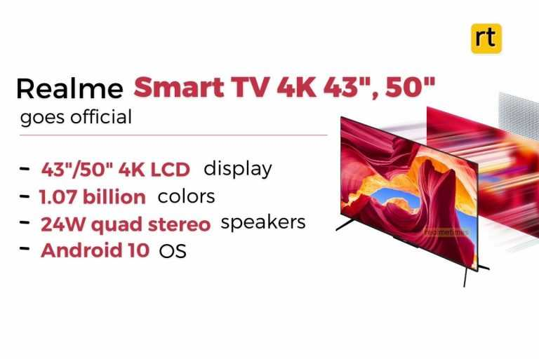 Realme Smart TV Launched