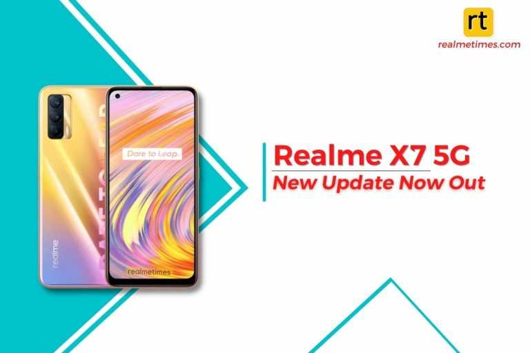 Realme X7 New Update featured