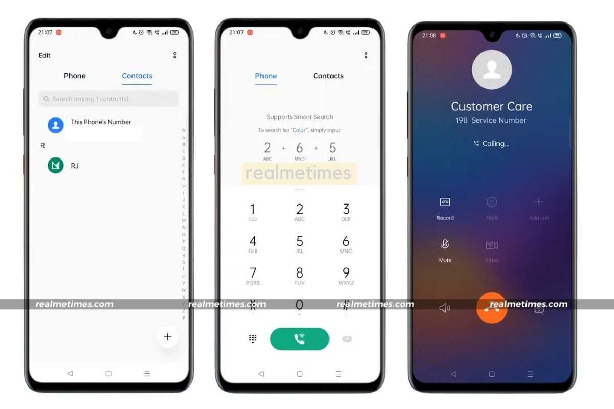 Replace Stock Dialer with Realme Dialer