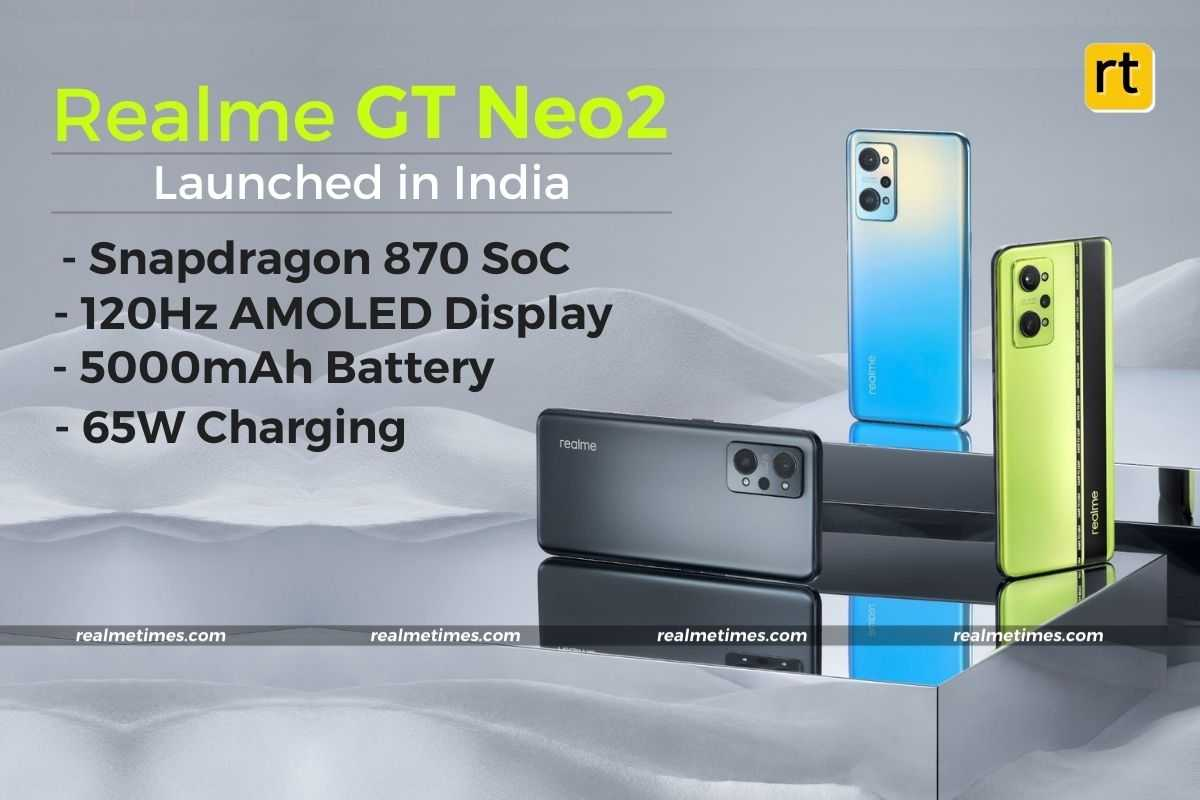 Realme GT Neo 2 Launched in India