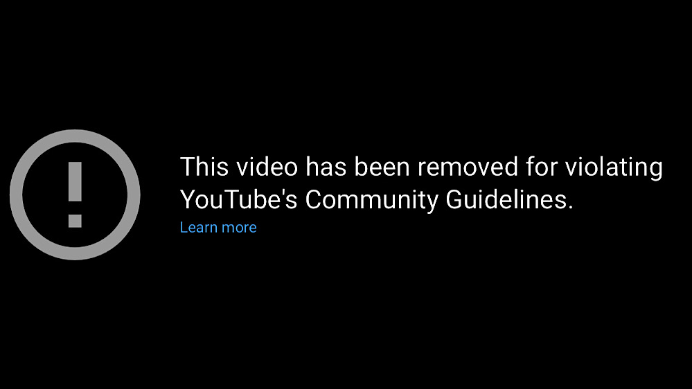 """YouTube removed """"The Case Against Lockdowns"""" video for """"violating YouTube's Community Guidelines"""" (YouTube - Toby Young)"""