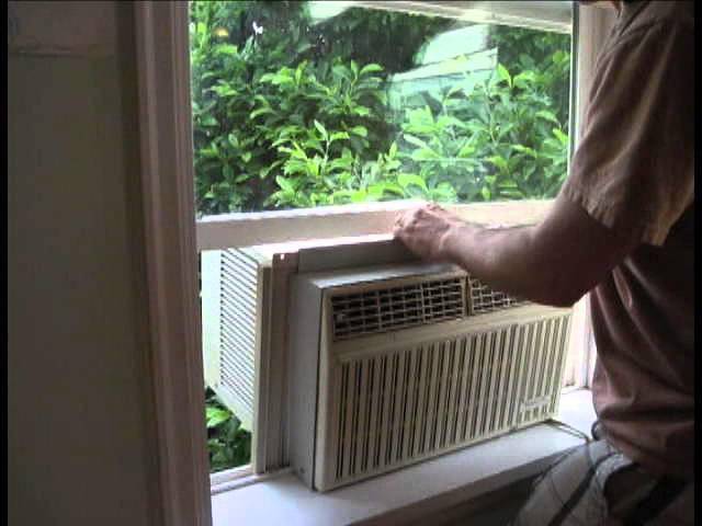 Setting up your window air conditioner