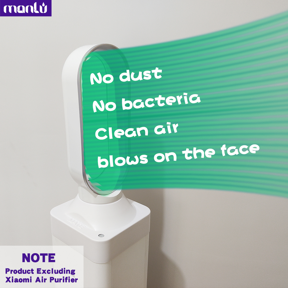 Upgrade Xiaomi Air Purifier to sLeafless Fan more quieter