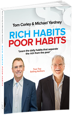 New Book — Rich habits poor habits