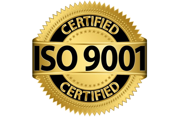RNG Furnitures ISO 9001 Certified Badge