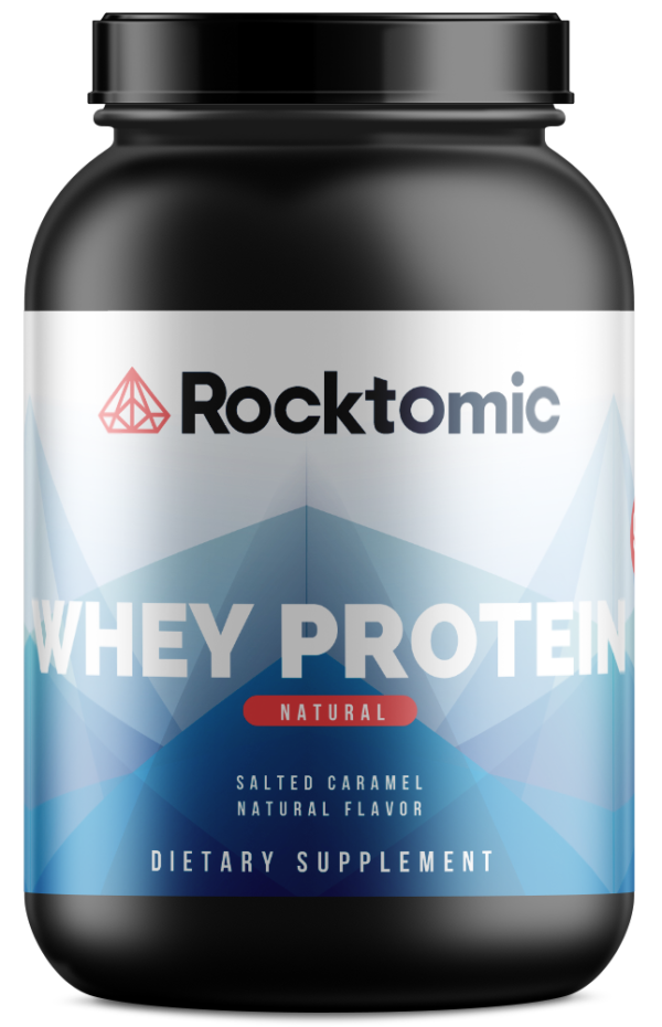 2lb Whey Natural Salted Caramel – 28 servings