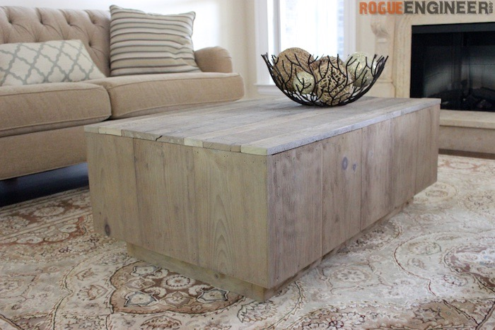 Rogue Engineer Free Modern Floating Coffee Table Plans