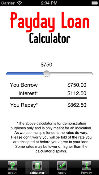 Payday Loan Calculator: Instant Cash