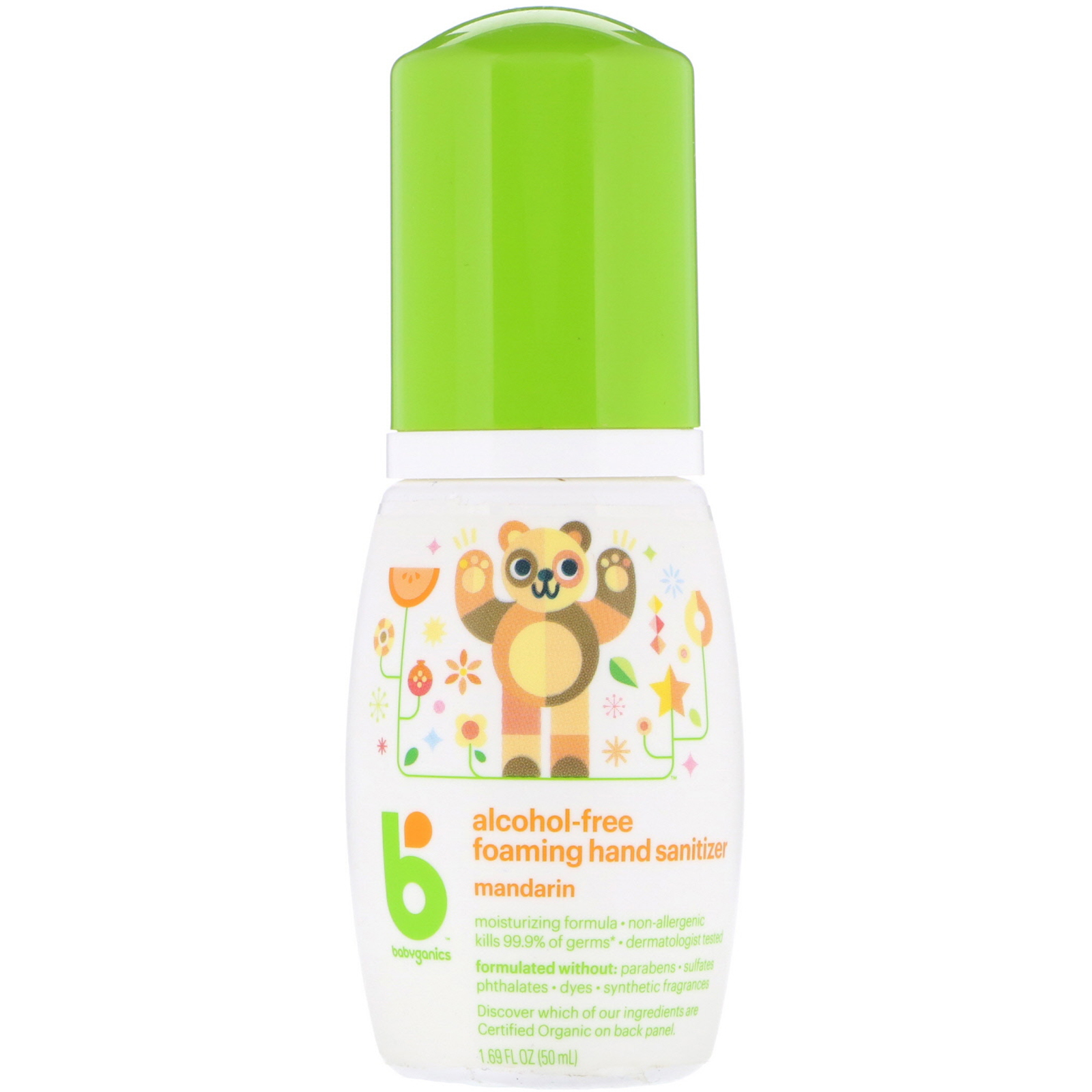 Babyganics Alcohol Free Foaming Hand Sanitizer Mandarin 1 69