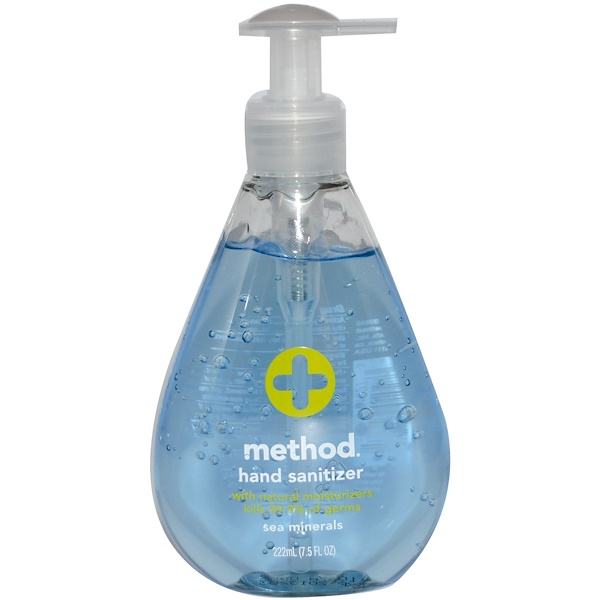 Method Hand Sanitizer Sea Minerals 7 5 Fl Oz 222 Ml Iherb