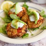 Baked or air fried crab cakes