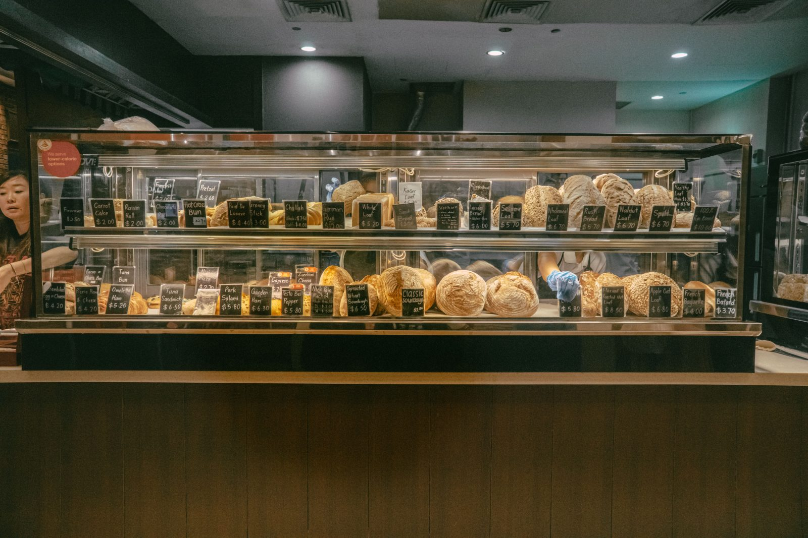 Nick Vina Artisan Bakery carries a diverse range of artisanal breads, which are popular with locals and expats alike.