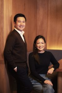 Founders of the Jigger & Pony Group, Indra Kantono and Gan Guoyi
