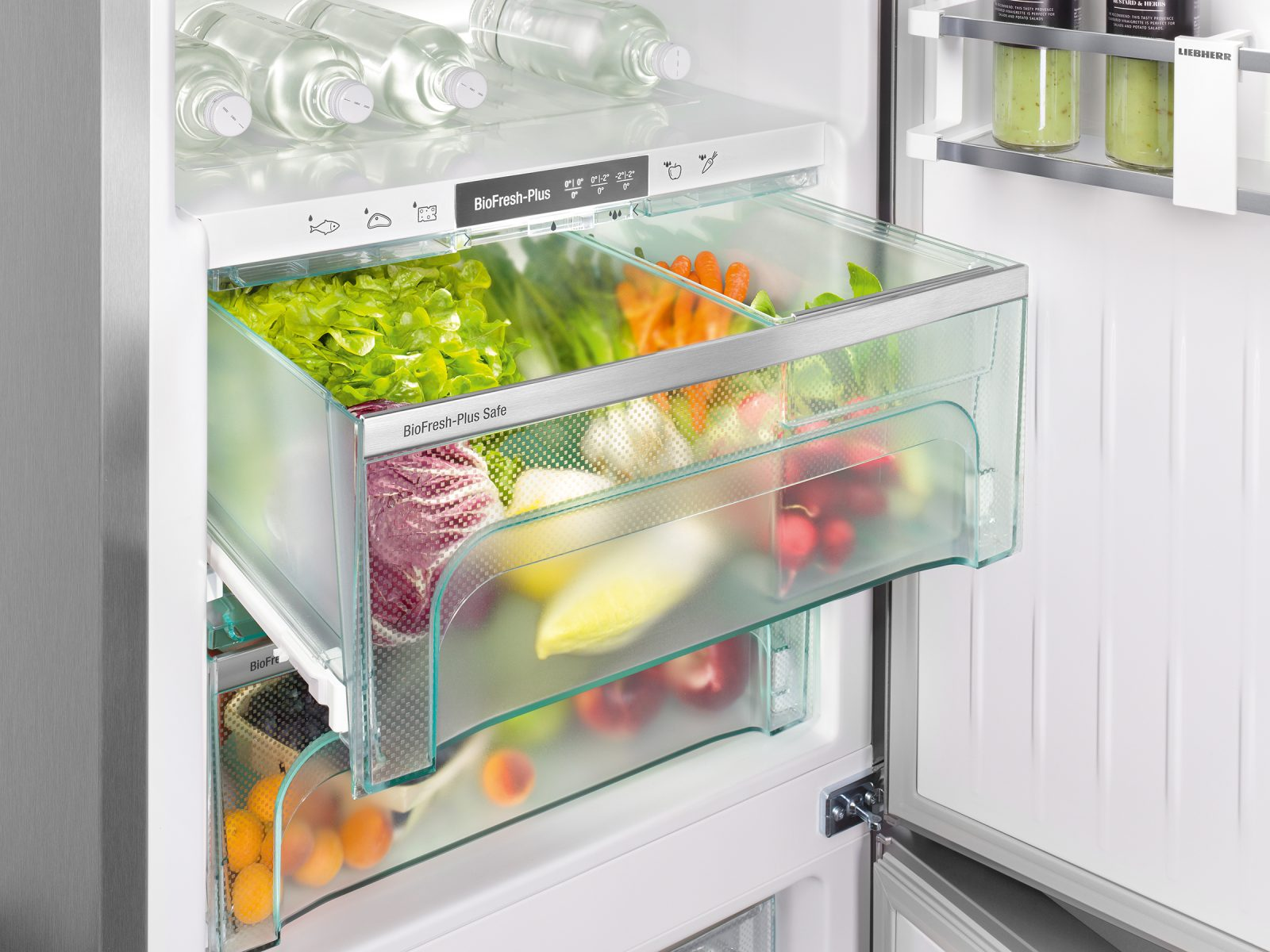 Preserve groceries longer with Liebherr's patented BioFresh technology