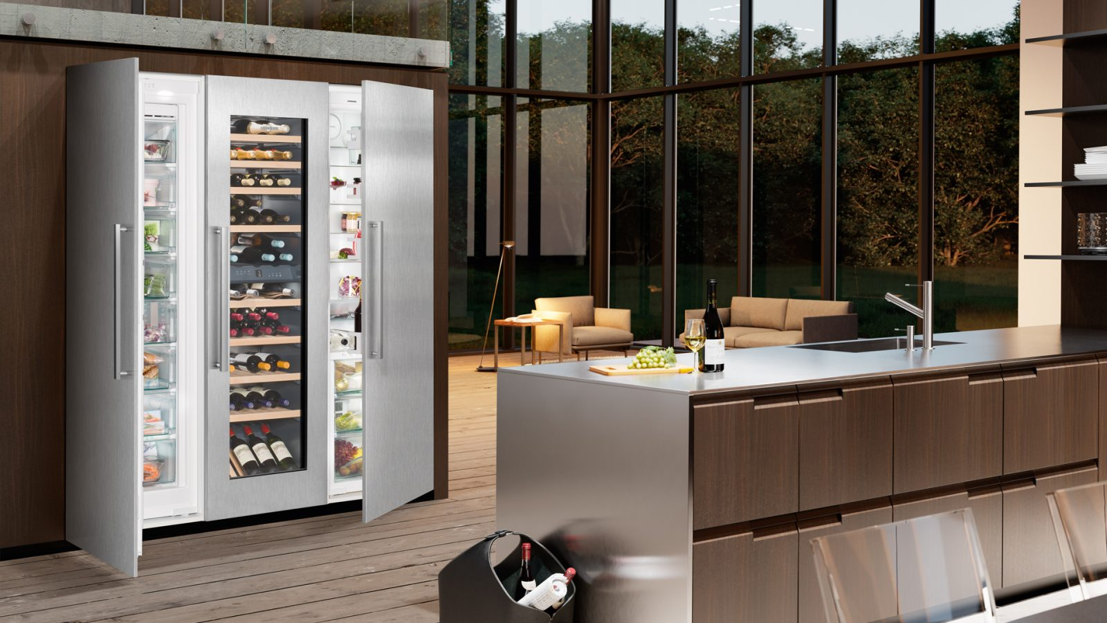 Seamless integration into any kitchen design