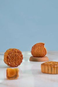 Traditional baked mooncakes are a lasting symbol of Chinese heritage