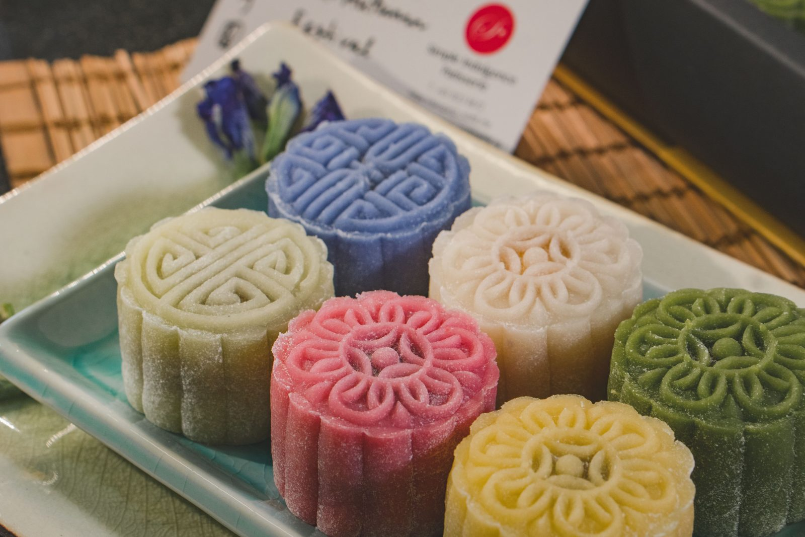 Simple Indulgence Patisserie's mooncakes are freshly made every morning using 100% real food and real flavours, free of preservatives and artificial ingredients