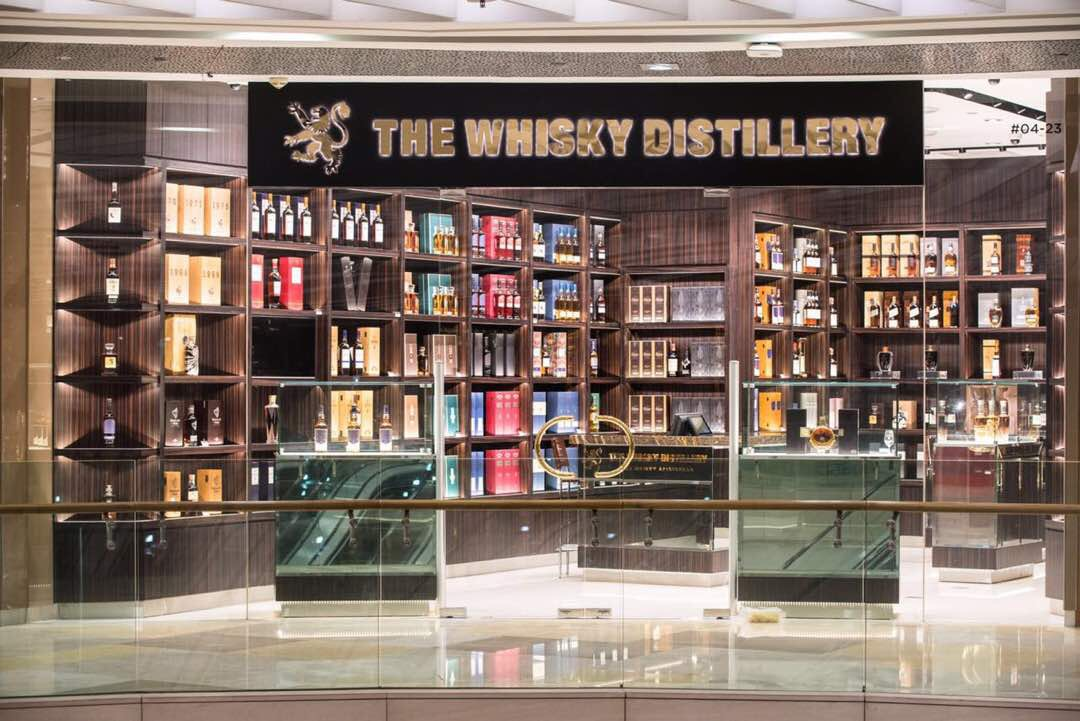 The Whisky Distillery at ION Orchard