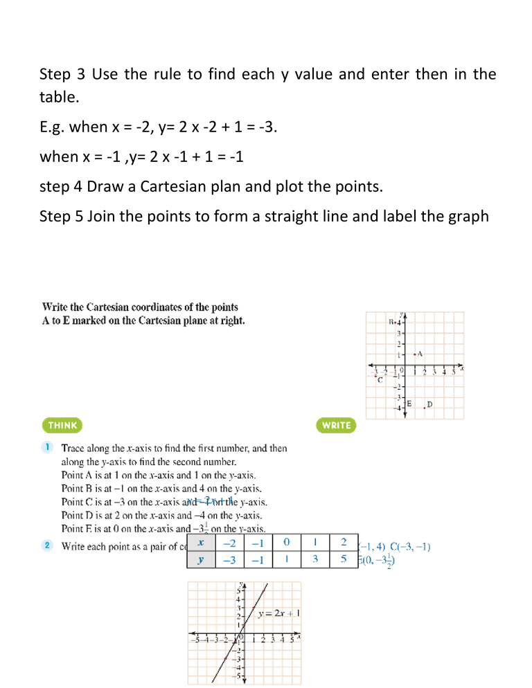 COORDINATES AND GRAPHS 3