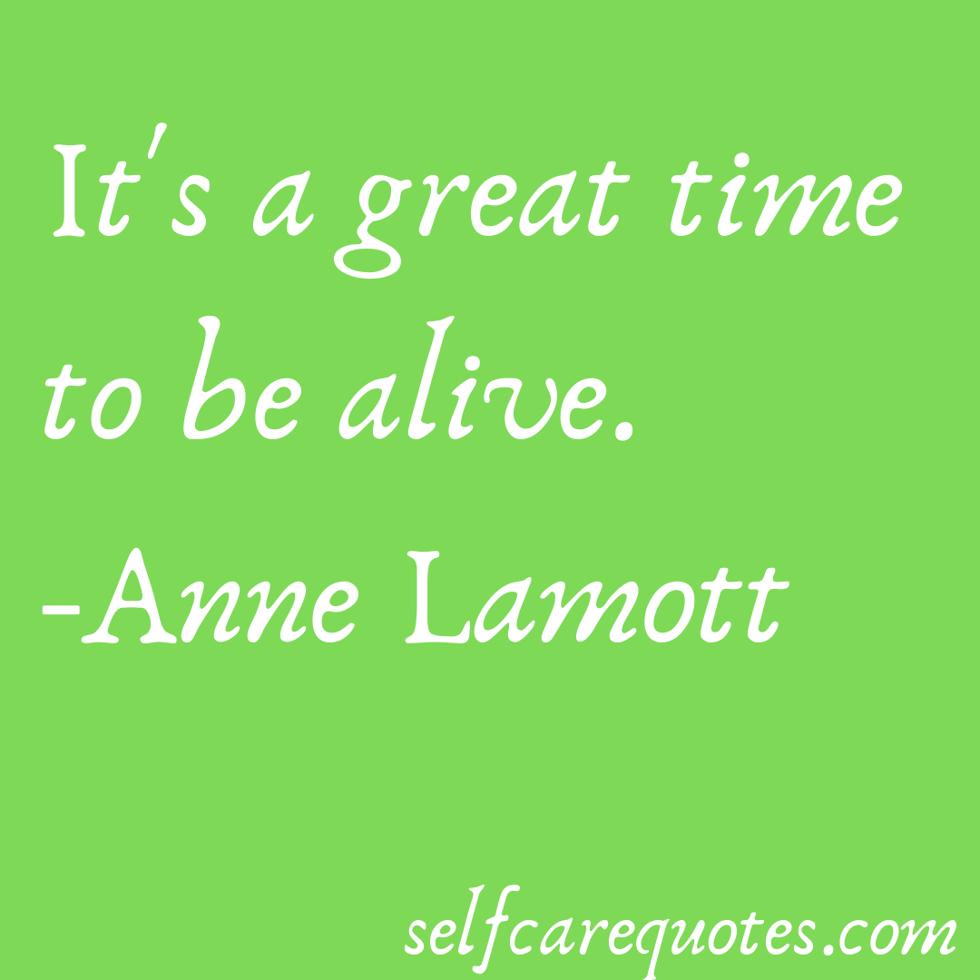 Anne Lamott quotes on aging