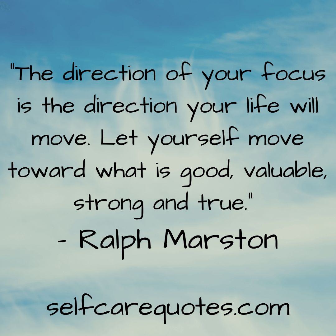 Focus On Yourself Quotes