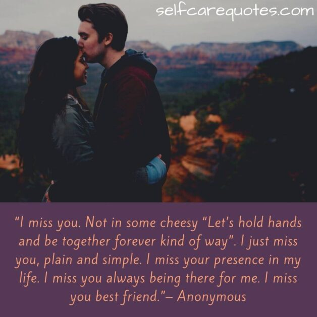 Missing Someone Special Quotes