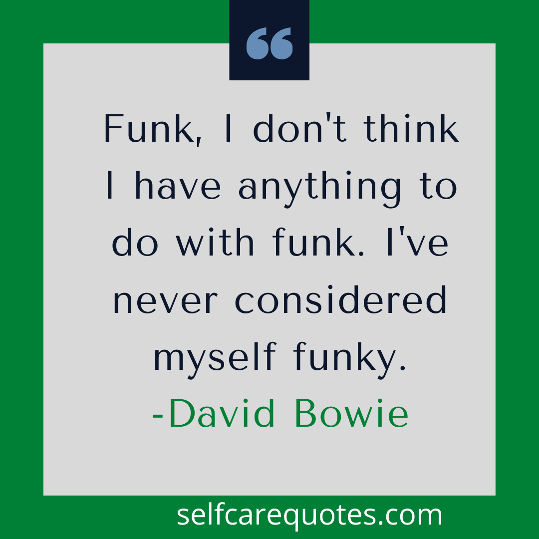 bowie quote love