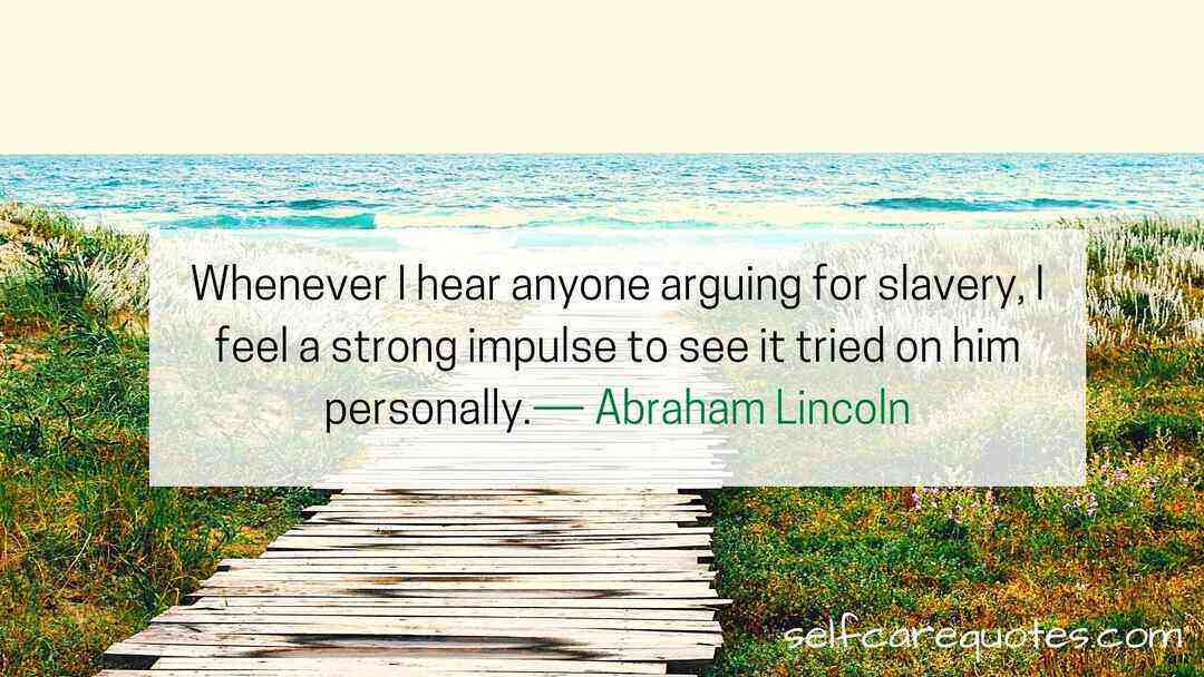 Abraham Lincoln quotes on democracy