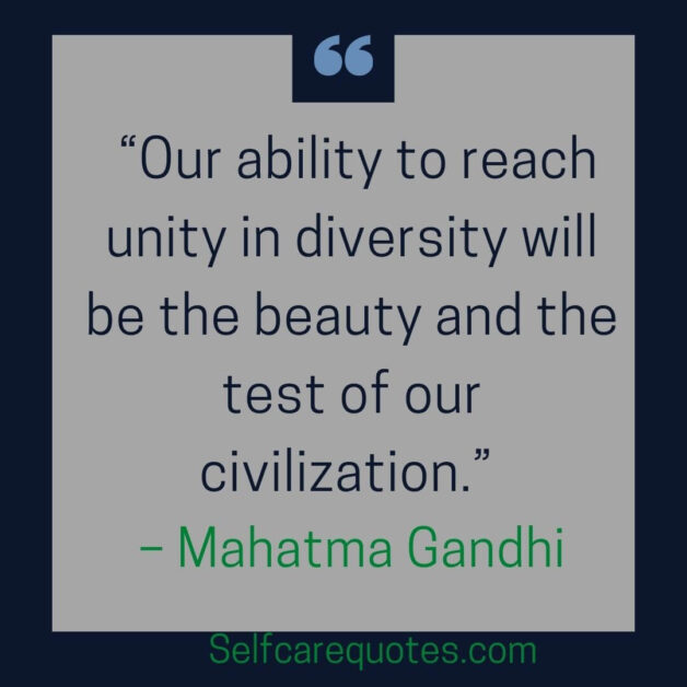 Quotes about unity in diversity