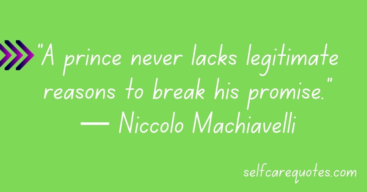Machiavelli Quotes The Prince