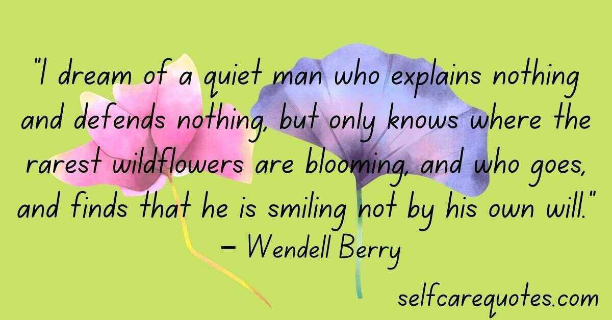 wildflower quotes life