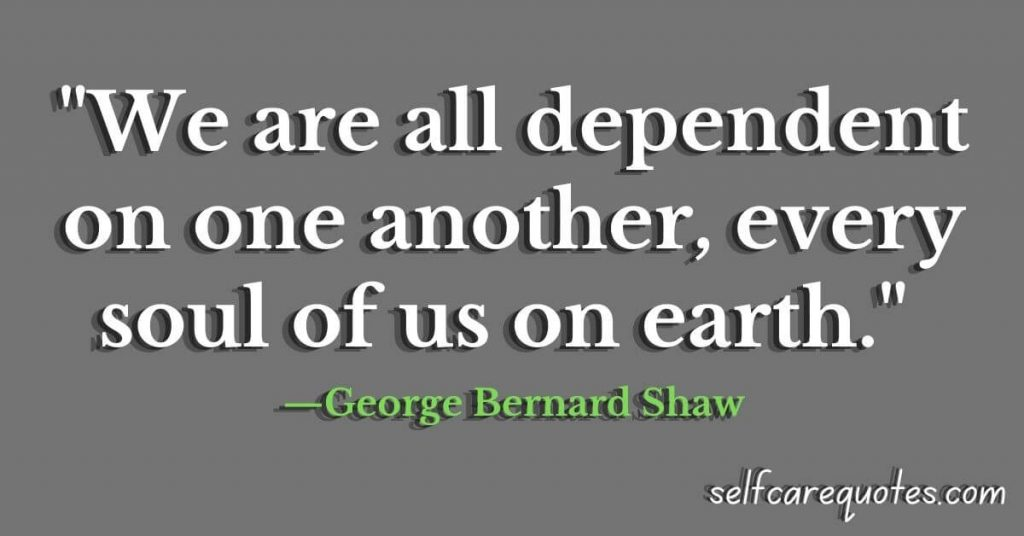 Dependent quotes