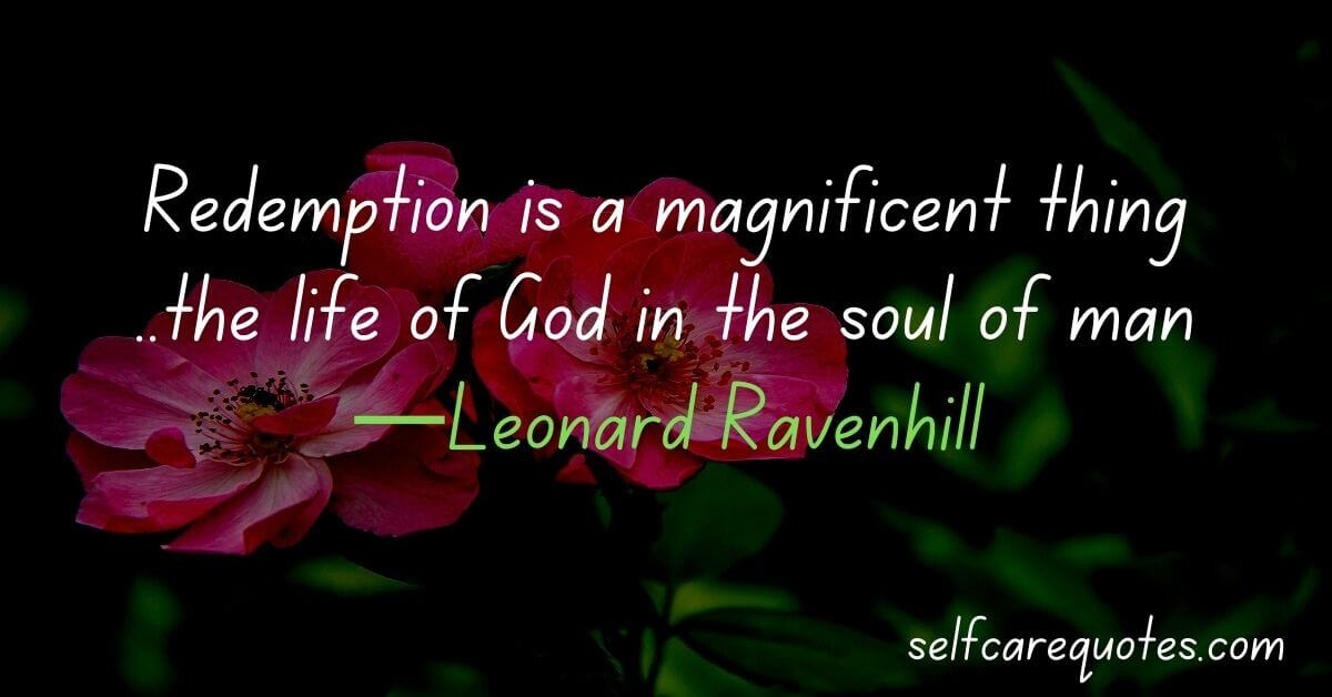 Quotes About Redemption