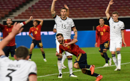 Germany 1-1 Spain, Jose Gaya leveled the position in the last minute