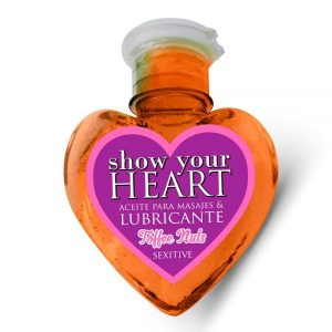 Heart Gel Saborizado - Toffee Nuts 100 ml.-0
