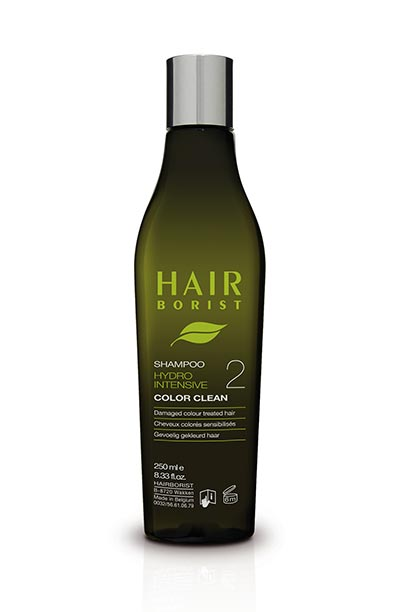 color clean 250ml shampoing cheveux colorés hairborist