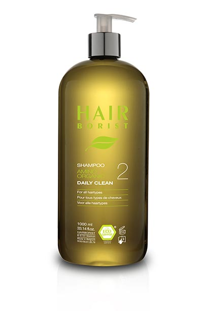 shampoing pour cheveux normaux amino organic daily clean daily clean 1000ml shampoing pour cheveux normaux