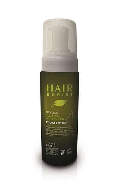 foam lotion mousse coiffante volume