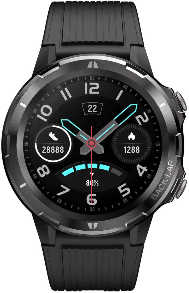 LETSCOM Smart Watch with Heart Rate Monitor